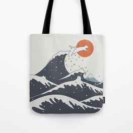 Cat Landscape 55C Tote Bag