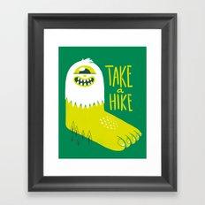 Advice Bigfoot Framed Art Print