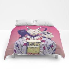 Neko Lady Comforters