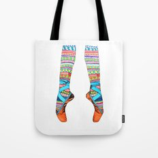 Happy Ballet Tote Bag