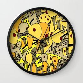 Un-i-ted Un-i-ted Un-i-ted Un-i-ted Un-i-ted Wall Clock