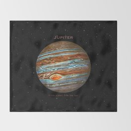 Jupiter Throw Blanket