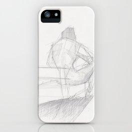 Figure Study (2) iPhone Case