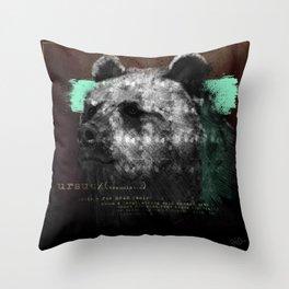 URSUS Throw Pillow