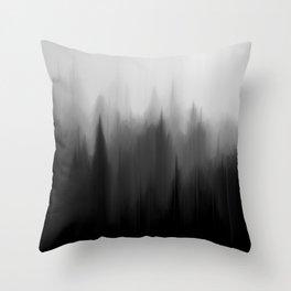 Fog Dream Throw Pillow