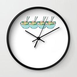 Ramen Ramens Sou Gift Idea Wall Clock