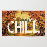 chill Area & Throw Rugs featuring Chill by James McKenzie
