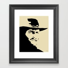 Blondie ( Clint Eastwood ) Framed Art Print
