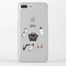 Fashion essentials Clear iPhone Case