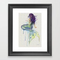 Mermaid I Framed Art Print