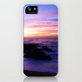 Beautiful sunrise in Los Cabos Mexico iPhone Case
