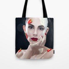 Strawberries & Cream Tote Bag