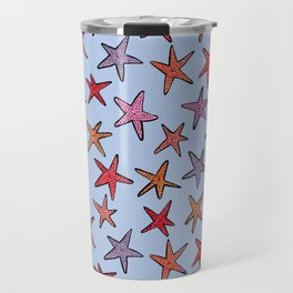Starfishes in clear water Travel Mug