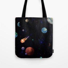 color galaxi Tote Bag