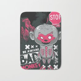 Cartoon Skeleton Bath Mat