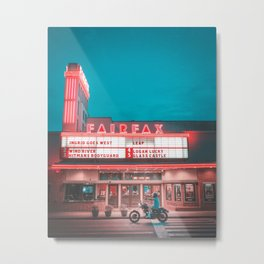Fairfax red Metal Print