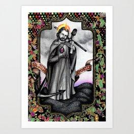 St. Jude Art Print