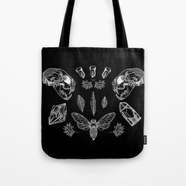 Crooked Teeth Tote Bag