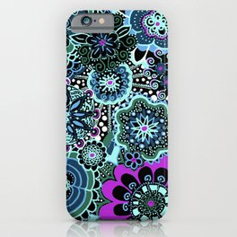 Mandala Floral Loveliness--Variation iPhone Case