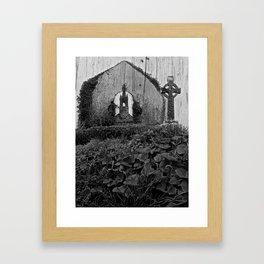 High Cross, Co. Cork Framed Art Print