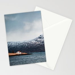 Alone House Mountain Stationery Cards