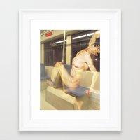 prometheus Framed Art Prints featuring Prometheus by Fabian Bross