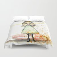 sister Duvet Covers featuring Sister by solocosmo