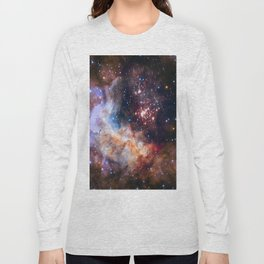picture of star by hubble: celestial firework Long Sleeve T-shirt