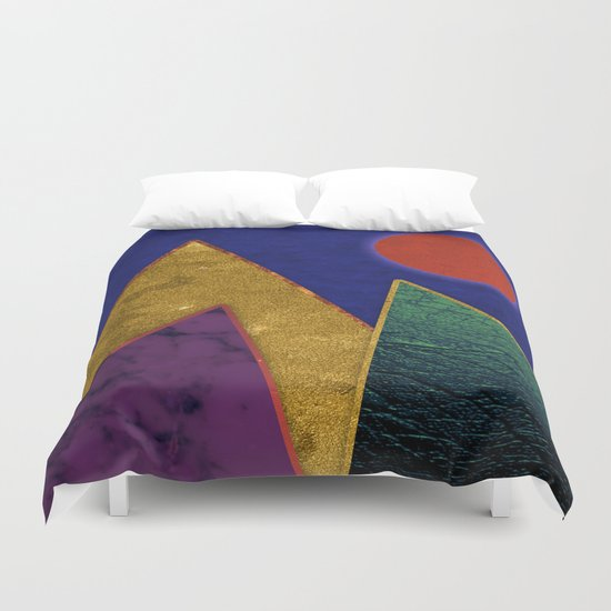Abstract #424 Duvet Cover