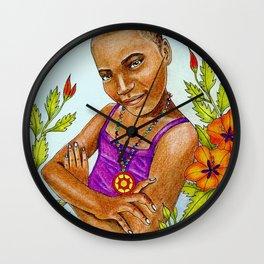Nsoromma, Child of the Heavens Wall Clock