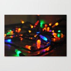 Christmas Lights Canvas Print