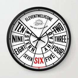Engine Order Telegraph Inspired Clocks №2 Wall Clock