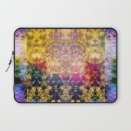 Fractalic Pineal Metatron | Foundant Dusa | Melting Soul Laptop Sleeve