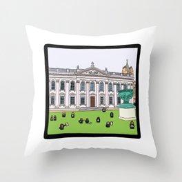 Cambridge struggles: Graduation Throw Pillow
