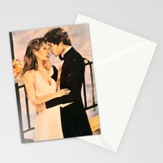 Classy couple in love Stationery Cards