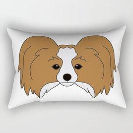 Papillon Dog #society6 #decor #buyart #artprint Rectangular Pillow