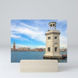 lighthouse- san giorgio venice Mini Art Print