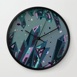 Crystalize  Wall Clock