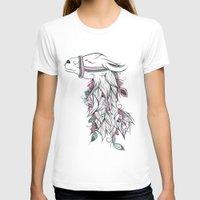 llama T-shirts featuring Llama by LouJah