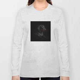 Black Dachshund Long Sleeve T-shirt