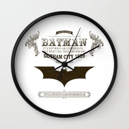 Bat Vintage Wall Clock