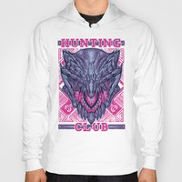gore Hoodies featuring Hunting Club: Gore Magala by MeleeNinja