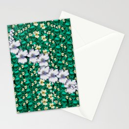 cherry blossom forest of peace and love sakura Stationery Cards