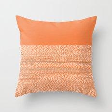 Riverside - Celosia Orange Throw Pillow