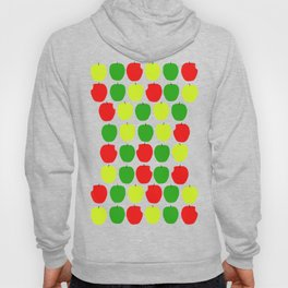 Summer Apple Picking Green, Red and Yellow Hoody
