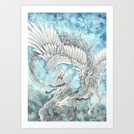 Celestial Souls Art Print