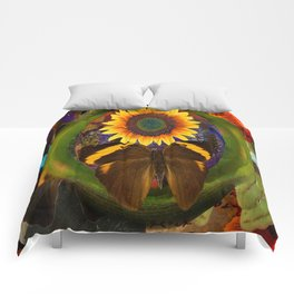 Butterfly and the Flower Comforters