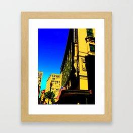 Dowtown Crossing Framed Art Print