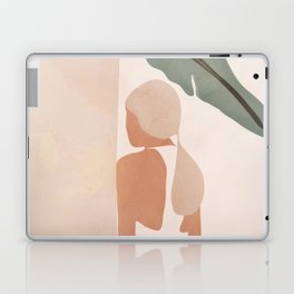 Abstract Woman in a Dress Laptop & iPad Skin