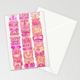 Tiki Totems – Pink Palette Stationery Cards